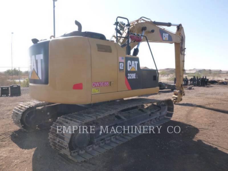 CATERPILLAR トラック油圧ショベル 320E LRR P equipment  photo 2