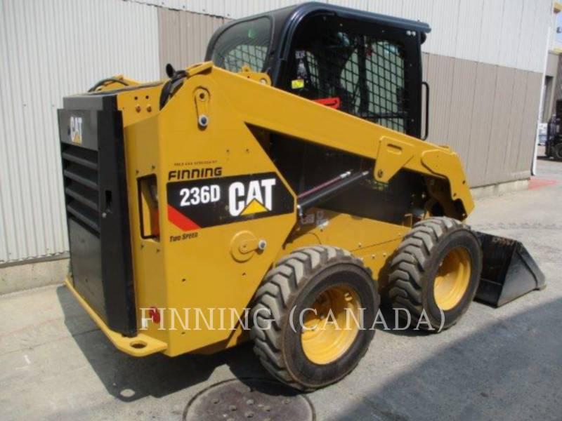 Caterpillar MINIÎNCĂRCĂTOARE RIGIDE MULTIFUNCŢIONALE 236D equipment  photo 4
