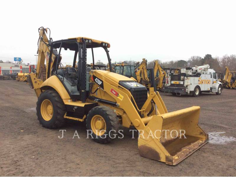 CATERPILLAR BACKHOE LOADERS 420F 4H equipment  photo 8
