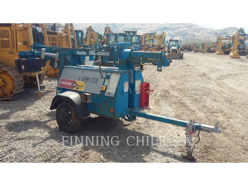 GENIE INDUSTRIES TORRE DE ALUMBRADO TML-4000N equipment  photo 2