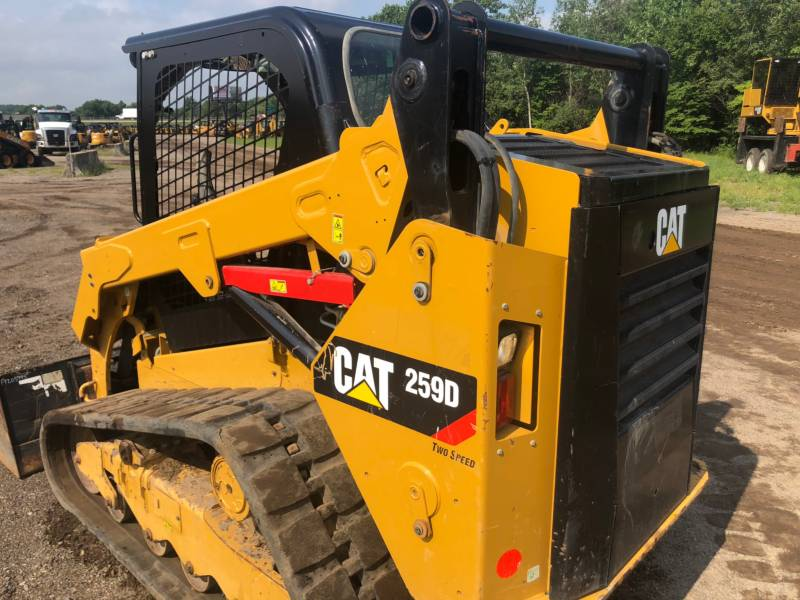 CATERPILLAR MULTI TERRAIN LOADERS 259 D equipment  photo 5