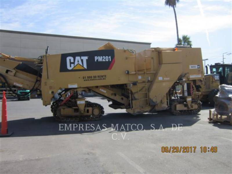 CATERPILLAR コールド・プレーナ PM-201 equipment  photo 2