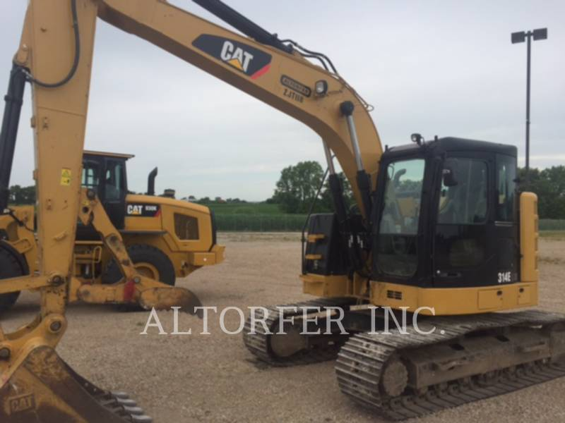 CATERPILLAR TRACK EXCAVATORS 314EL CRTH equipment  photo 3