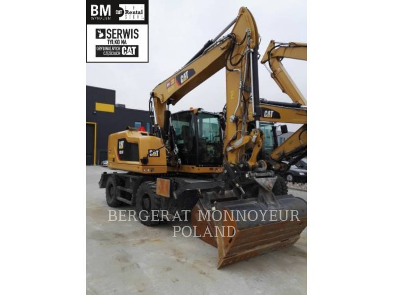 CATERPILLAR WHEEL EXCAVATORS M314 F equipment  photo 1
