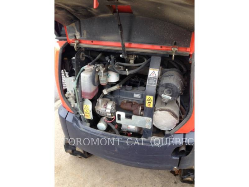KUBOTA CORPORATION EXCAVADORAS DE CADENAS KX018-4 equipment  photo 17