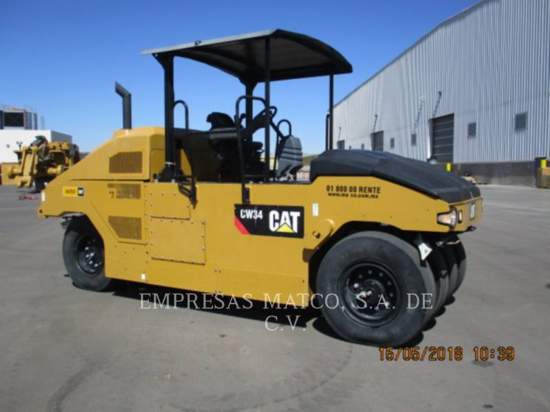CATERPILLAR PNEUMATIC TIRED COMPACTORS CW34LRC equipment  photo 7