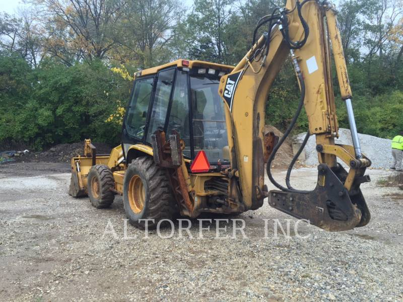 CATERPILLAR CHARGEUSES-PELLETEUSES 416C equipment  photo 4