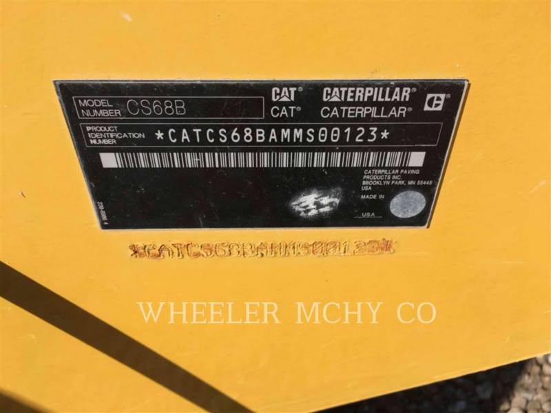 CATERPILLAR COMPACTADORES DE SUELOS CS68B equipment  photo 9