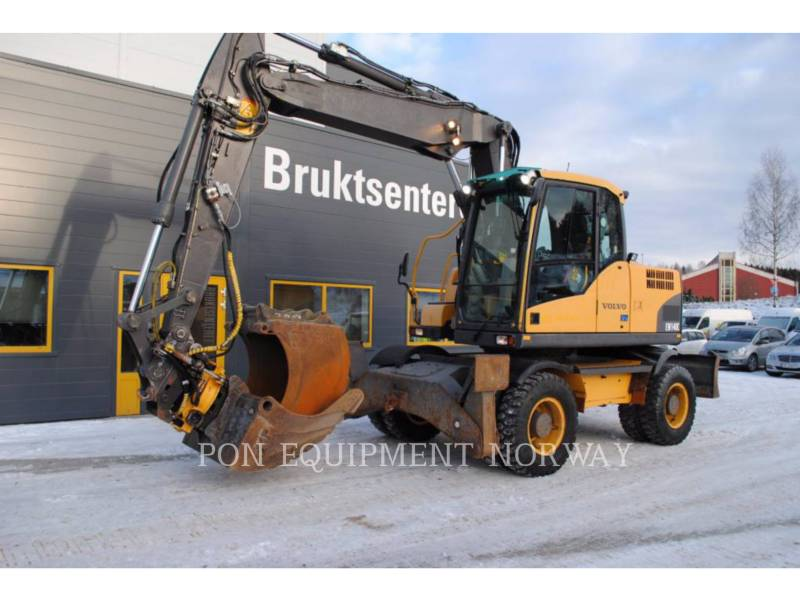 VOLVO KOPARKI GĄSIENICOWE EW140C equipment  photo 7