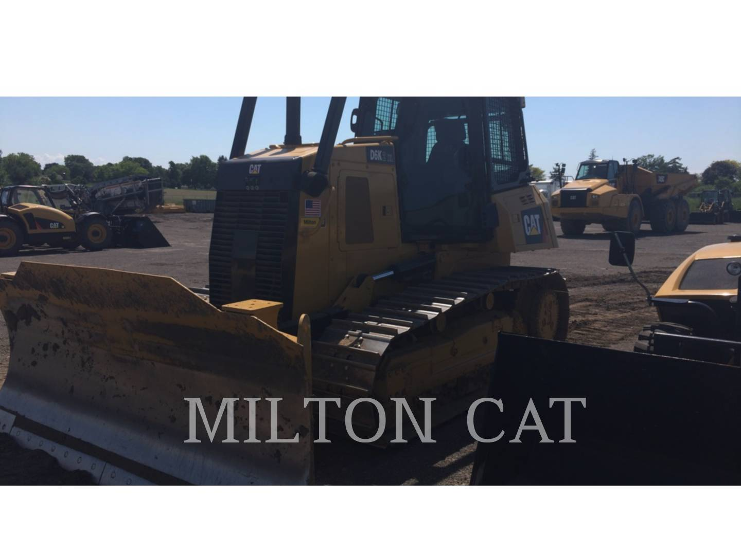 Detail photo of 2014 Caterpillar D6K from Construction Equipment Guide