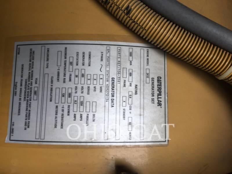 CATERPILLAR STACJONARNY — WYSOKOPRĘŻNY 3412 equipment  photo 6