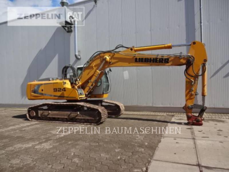 LIEBHERR PELLES SUR CHAINES R924 equipment  photo 8