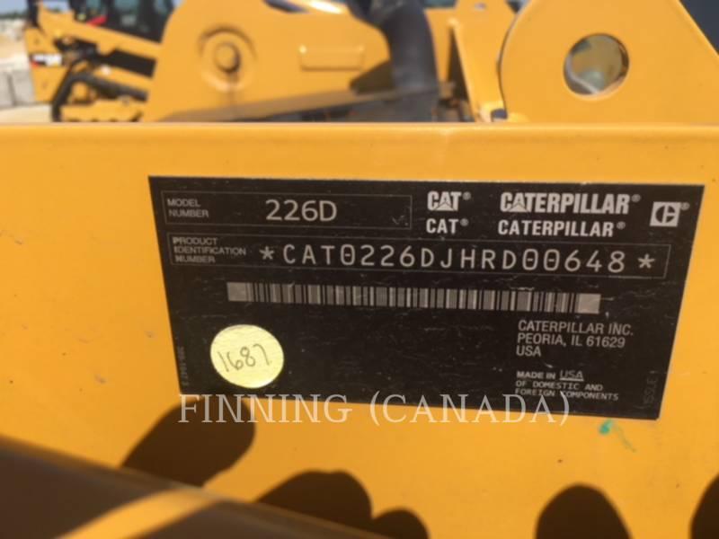 CATERPILLAR MINICARGADORAS 226D equipment  photo 7