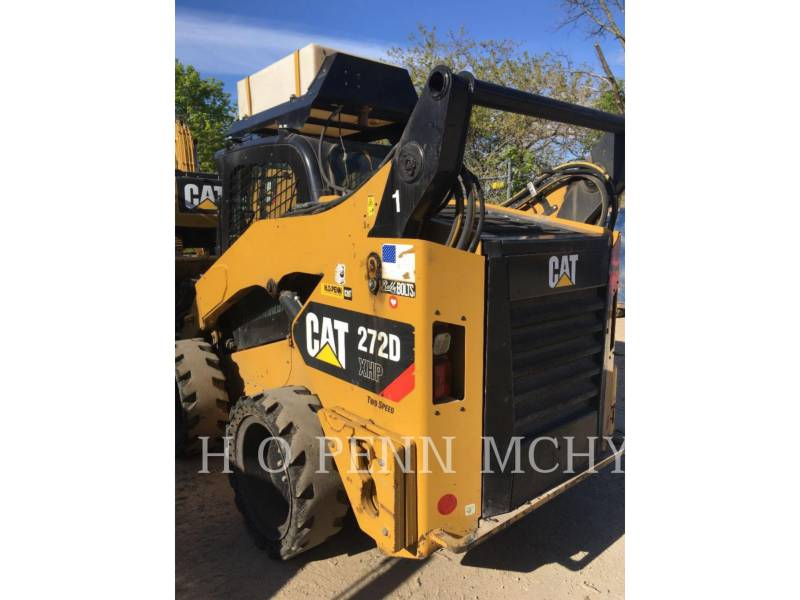 CATERPILLAR MINICARREGADEIRAS 272DXHP equipment  photo 3