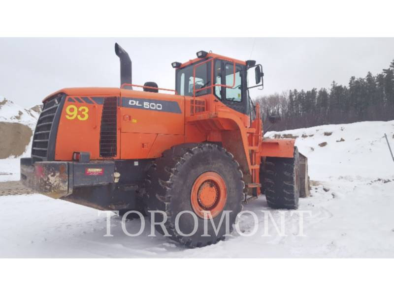 DOOSAN INFRACORE AMERICA CORP. WHEEL LOADERS/INTEGRATED TOOLCARRIERS DL500 equipment  photo 4