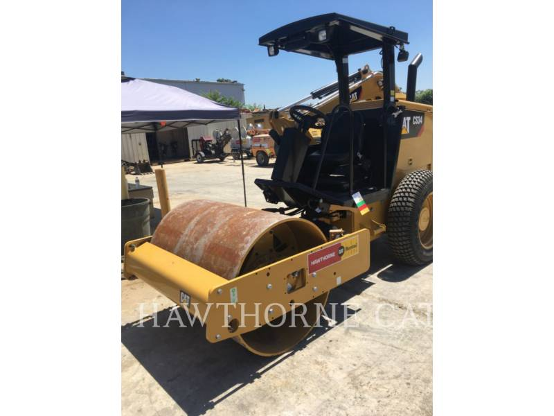 CATERPILLAR COMPATTATORE A SINGOLO TAMBURO VIBRANTE LISCIO CS34 equipment  photo 1