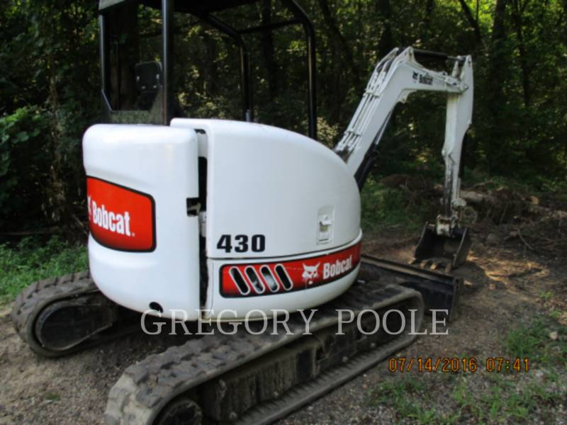 BOBCAT TRACK EXCAVATORS 430 BOB equipment  photo 3
