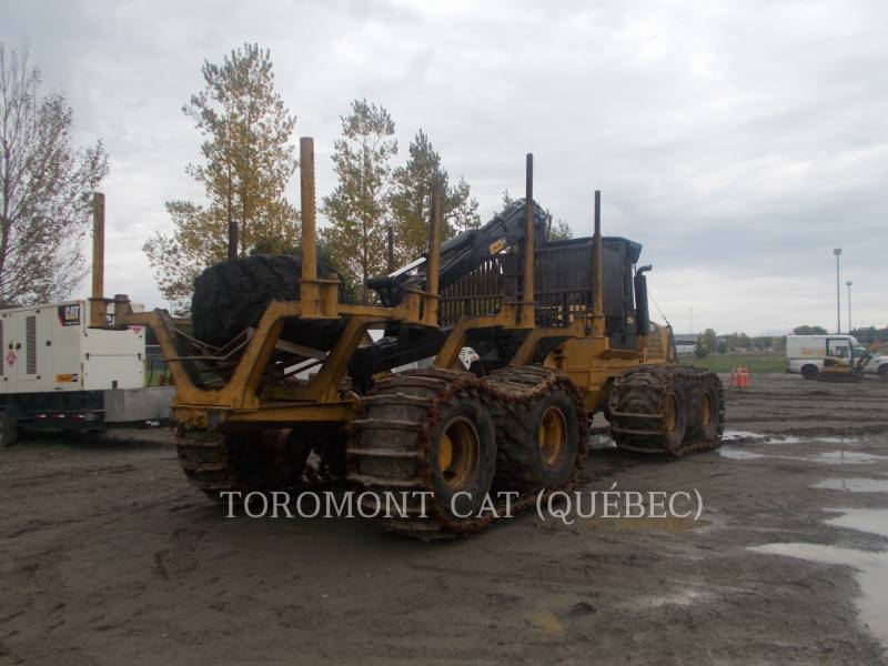 CATERPILLAR FORESTRY - FORWARDER 584HD equipment  photo 4