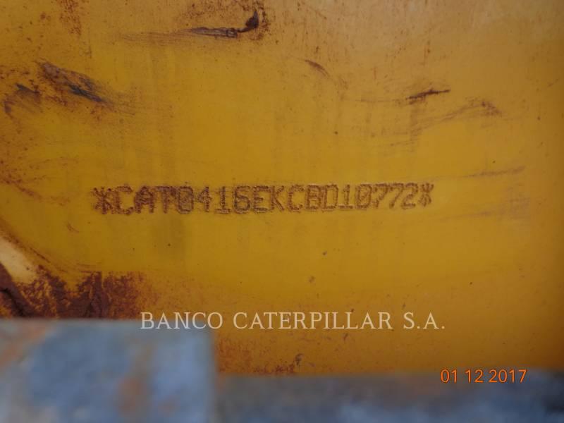 CATERPILLAR BACKHOE LOADERS 416EST equipment  photo 4