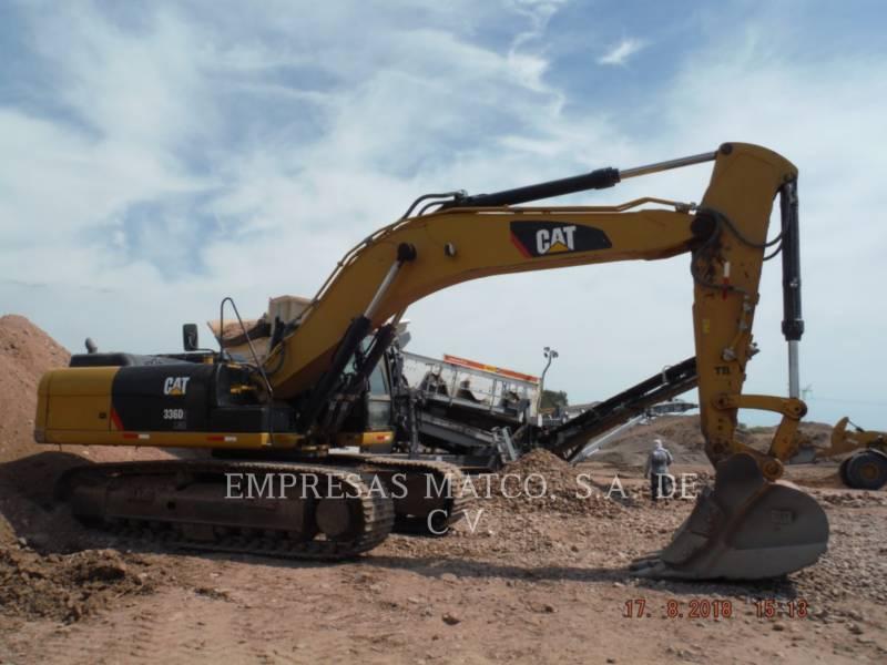 CATERPILLAR KETTEN-HYDRAULIKBAGGER 336D2L equipment  photo 1