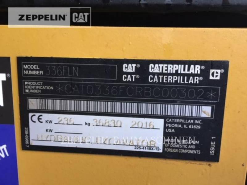 CATERPILLAR トラック油圧ショベル 336FLNDCA equipment  photo 3