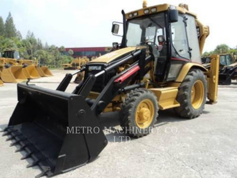 CATERPILLAR RETROESCAVADEIRAS 428C equipment  photo 1