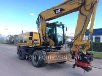 CATERPILLAR ESCAVADEIRAS DE RODAS M318C equipment  photo 4