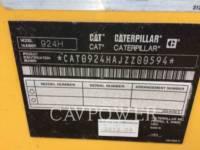 CATERPILLAR CARGADORES DE RUEDAS 924HZ equipment  photo 5