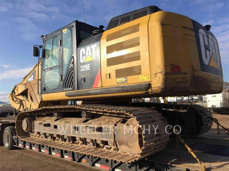 CATERPILLAR TRACK EXCAVATORS 329E L THM equipment  photo 2