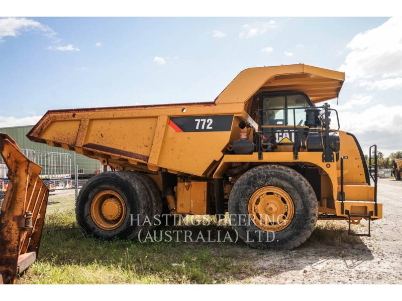 CATERPILLAR MINING OFF HIGHWAY TRUCK 772 equipment  photo 5