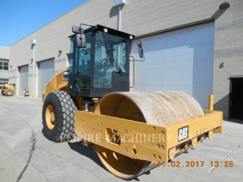 CATERPILLAR VIBRATORY SINGLE DRUM PAD CS56B CA equipment  photo 1