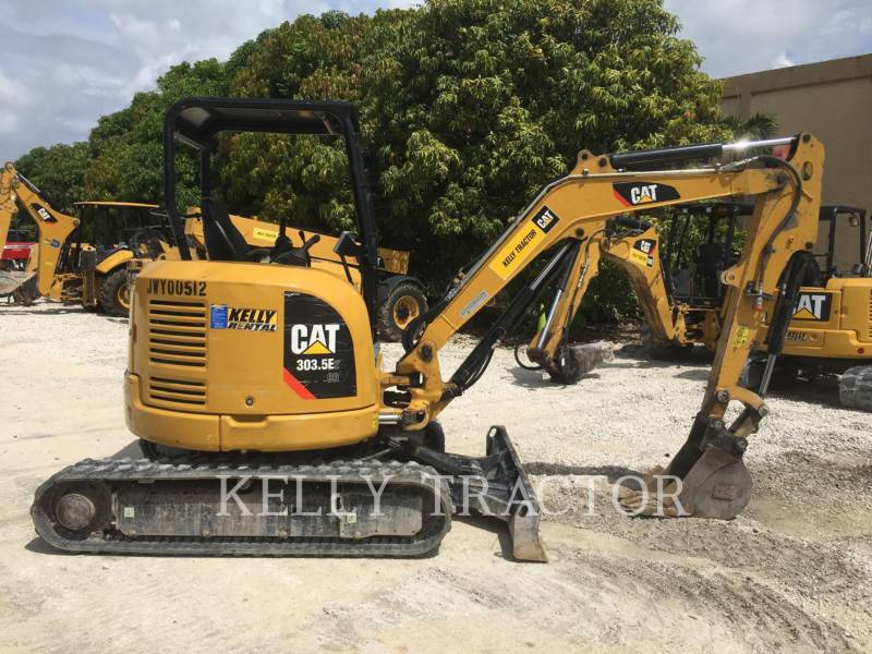 CATERPILLAR TRACK EXCAVATORS 303.5E2CR equipment  photo 8