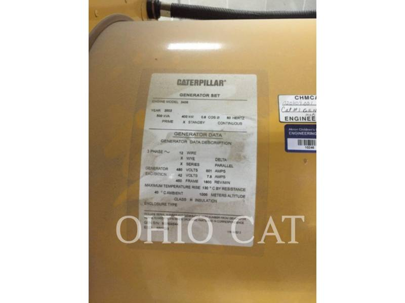 CATERPILLAR STATIONARY - DIESEL 3406 equipment  photo 5