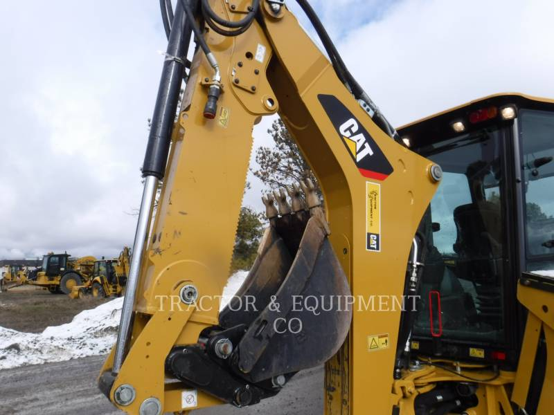 CATERPILLAR BAGGERLADER 420F2IT equipment  photo 6