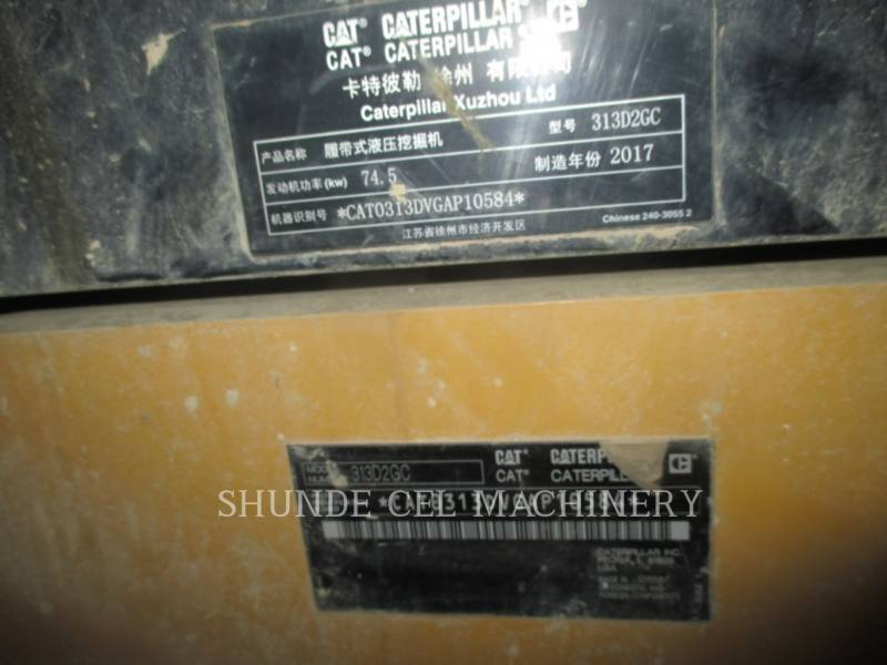 CATERPILLAR ESCAVADEIRAS 313D2GC equipment  photo 2