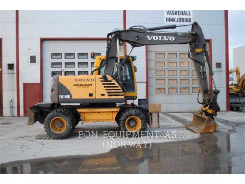 VOLVO CONSTRUCTION EQUIPMENT ESCAVADEIRAS DE RODAS EW140B equipment  photo 6