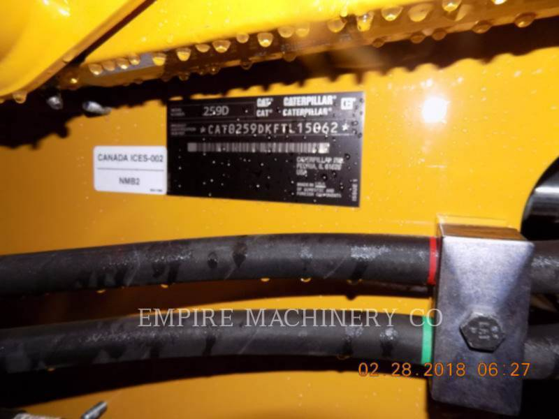 CATERPILLAR KOMPAKTLADER 259D equipment  photo 6