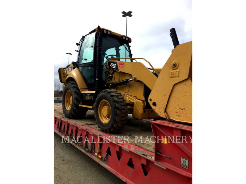 CATERPILLAR バックホーローダ 420FST equipment  photo 1