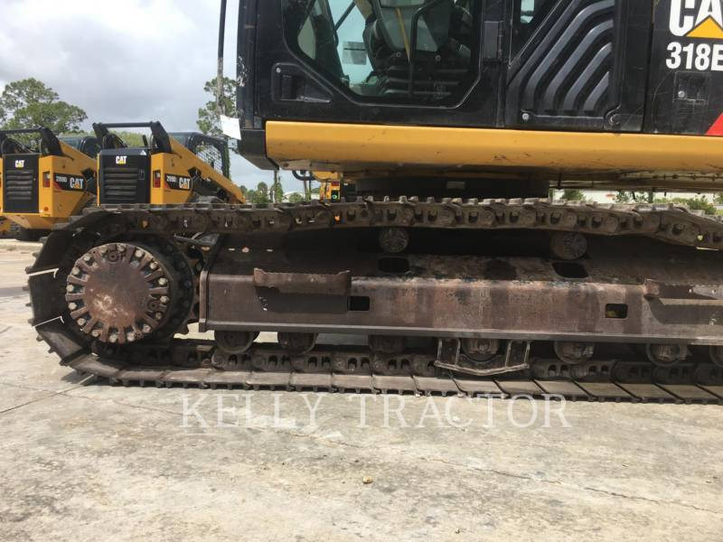 CATERPILLAR EXCAVADORAS DE CADENAS 318EL equipment  photo 10