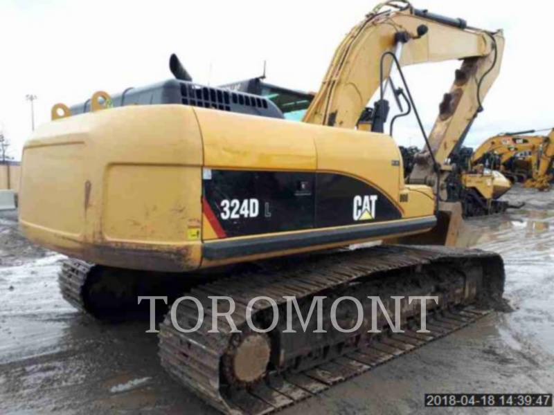 CATERPILLAR KETTEN-HYDRAULIKBAGGER 324DL equipment  photo 4