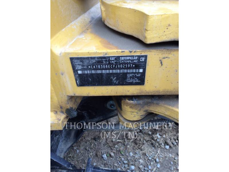 CATERPILLAR EXCAVADORAS DE CADENAS 308E2 THMB equipment  photo 5