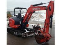 KUBOTA CORPORATION PELLES SUR CHAINES KX040-4 equipment  photo 6