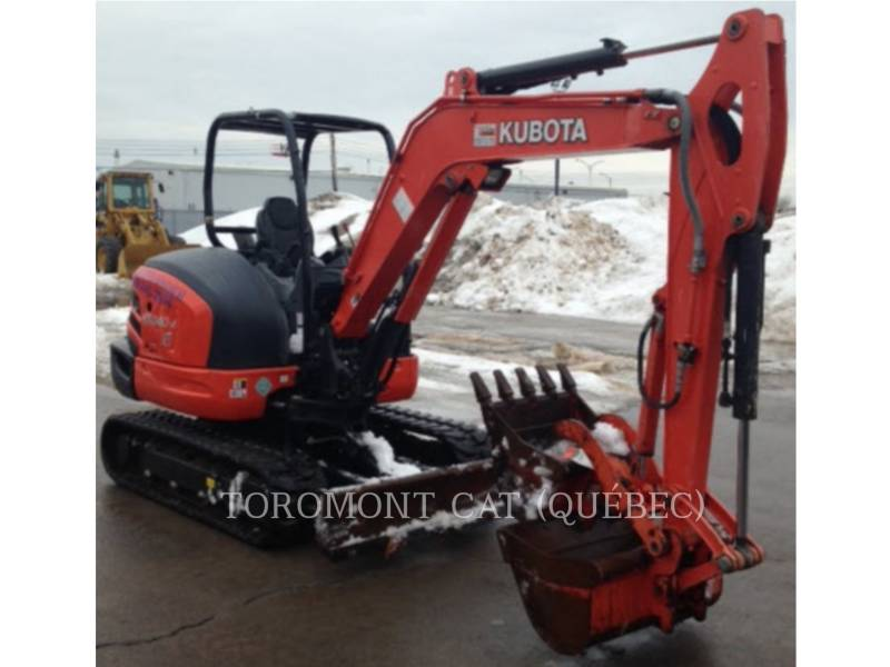 KUBOTA CORPORATION KOPARKI GĄSIENICOWE KX040-4 equipment  photo 6