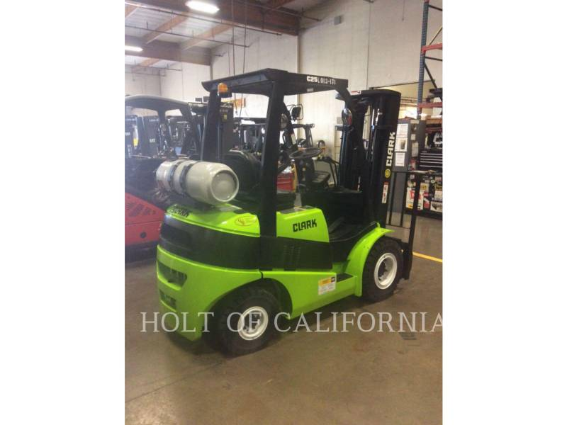 CLARK FORKLIFTS C25L equipment  photo 4
