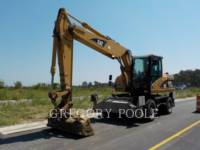 Equipment photo Caterpillar M316C EXCAVATOARE PE ROŢI 1
