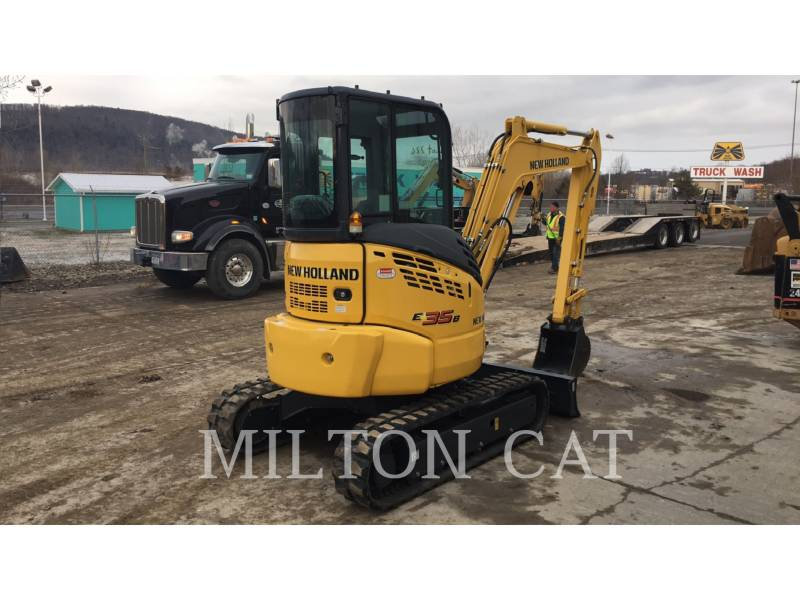 NEW HOLLAND LTD. PELLES SUR CHAINES E35B equipment  photo 4