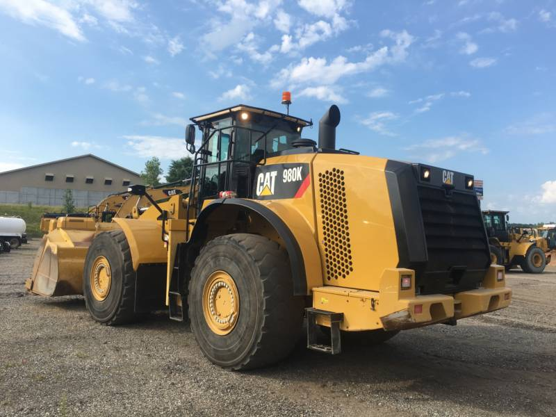 CATERPILLAR CARGADORES DE RUEDAS 980K equipment  photo 3