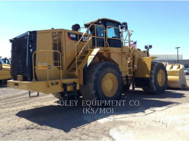 CATERPILLAR PALA GOMMATA DA MINIERA 988K equipment  photo 3