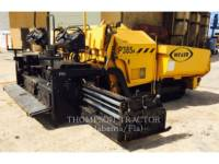 Equipment photo WEILER P 385 A PAVIMENTADORA DE ASFALTO 1