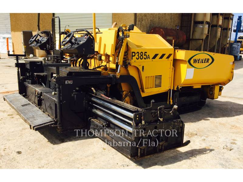 WEILER PAVIMENTADORA DE ASFALTO P 385 A equipment  photo 1